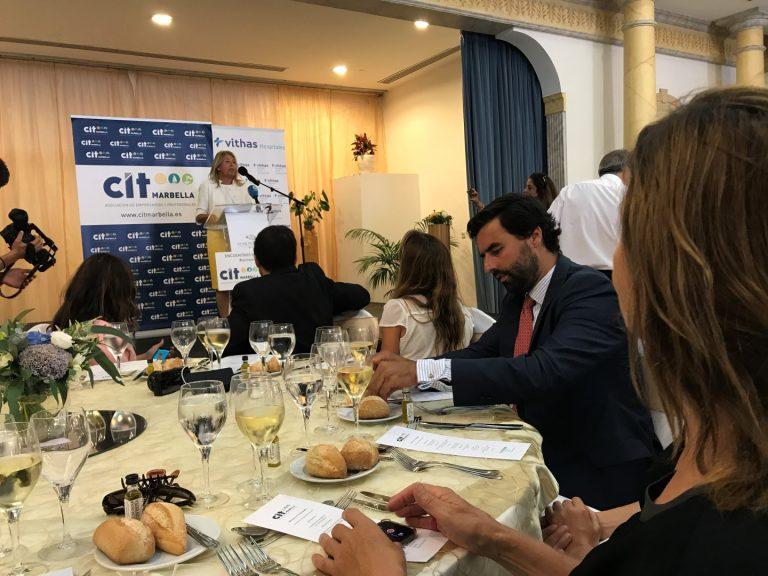 Ivar Dahl asiste a la presentación de la alcaldesa de Marbella el 17 de octubre